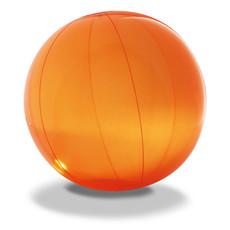 Pallone spiaggia gonfiabile in PVC colore arancio IT2216-10