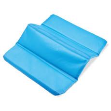 Seduta pieghevole in nylon colore celeste KC6375-66