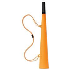 Trombetta da stadio con cordoncino colore arancio KC7084-10