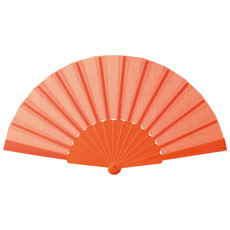 Ventaglio in ABS colore arancio KC6733-10