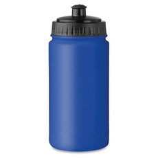 Borraccia in PE da 500ml colore blu royal MO8819-37