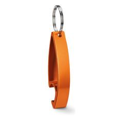 Portachiavi apribottiglie  in alluminio personalizzabile colore arancio MO8664-10