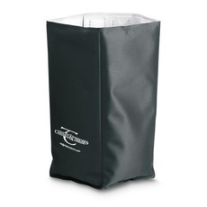Refrigerante per bottiglia vino in poliestere esterno colore nero IT3708-03