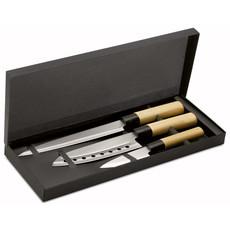 Set 3 coltelli in acciaio inossidabile colore multicolor KC6841-99
