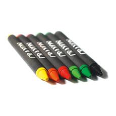 Set 6 pastelli a cera in astuccio di cartone colore multicolor IT2172-99