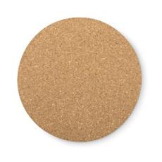 Sottobicchiere tondo in sughero colore legno MO9298-40