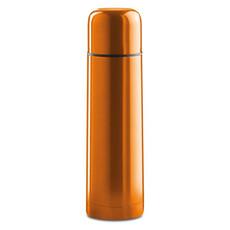 Thermos in acciaio inossidabile con doppia parete colore arancio MO8314-10