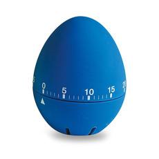 Timer cucina a forma di uovo in ABS colore blu IT2392-04