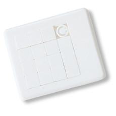 Gioco del 15 in plastica colore bianco KC4861-06