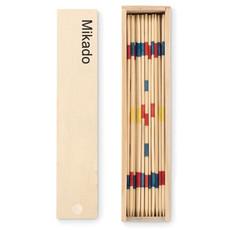 Mini mikado in confezione di lagno colore legno MO9189-40