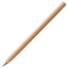 Penna nera a sfera in legno personalizzabile colore legno KC6725-40