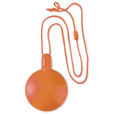 Stick rotondo per bolle di sapone con sgancio di sicurezza colore arancio MO8818-10