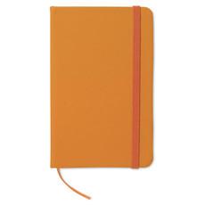 Quaderno 96 fogli neutri con cover soft in PU colore arancio AR1800-10
