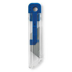 Taglierino retrattile con parti colorate colore blu IT3011-04