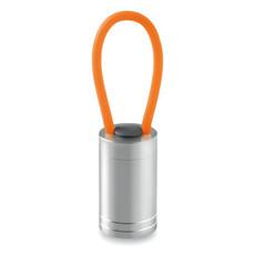 Torcia in alluminio con 6LED colore arancio MO9152-10