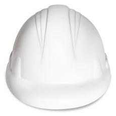 Antistress a forma di elmetto da lavoratore colore bianco MO8685-06