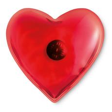 Cuscinetto riscaldante a forma di cuore per usi terapautici colore rosso MO7380-05