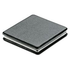 Doppio specchietto quadrato da borsa colore nero MO7520-03