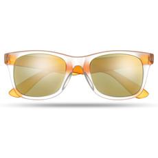 Occhiali da sole con lenti specchiate e protezione UV400 colore arancio MO8652-10