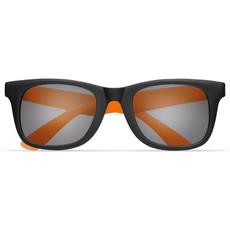 Occhiali da sole in PC bicolore con protezione UV400 colore arancio MO9033-10