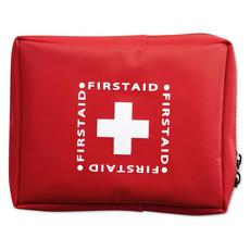 Set pronto soccorso con coperta di emergenza colore rosso MO8258-05