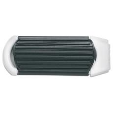 Spazzola rettangolar per capelli con specchietto richiudibile colore bianco KC5720-06