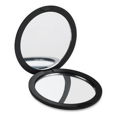 Specchietto doppio con finitura gommata colore nero MO8767-03