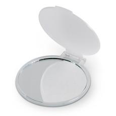 Specchietto rotondo in plastica colore bianco trasparente KC2466-26