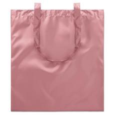 Borsa spesa lucida in poliestere colore rosa MO9443-11