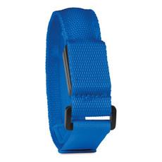 Cinturino riflettente con 3 modalita di luce colore blu royal MO9397-37