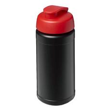 Borraccia sportiva Baseline® Plus da 500 ml - colore Nero/Rosso