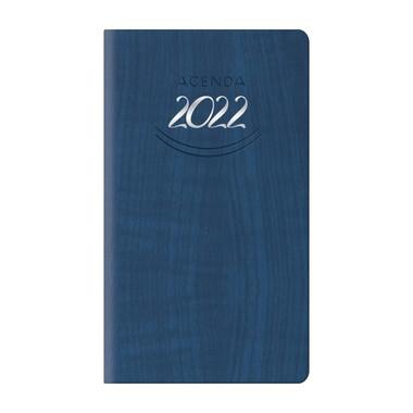 Agenda 2022 settimanale tascabile blu