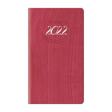 Agenda 2022 settimanale tascabile rosso